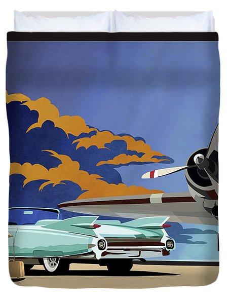 Cadillac Eldorado 1959 Duvet Cover