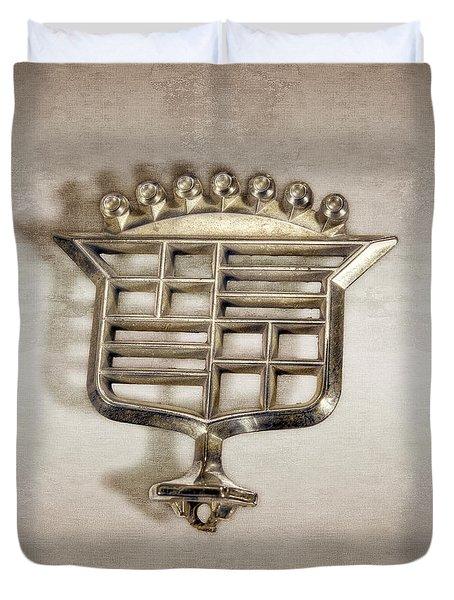 Cadillac Emblem Duvet Cover