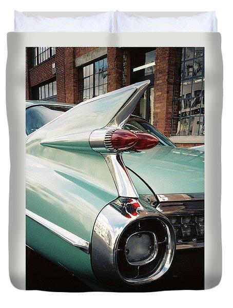 Cadillac Fins Duvet Cover