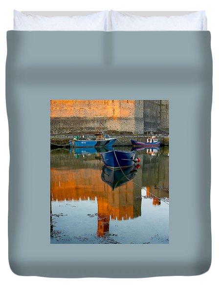 Caernarfon Reflections Duvet Cover
