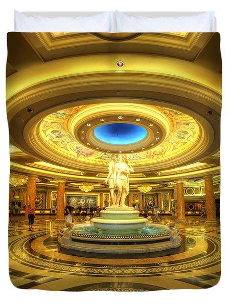 Caesar's Grand Lobby Duvet Cover by Yhun Suarez