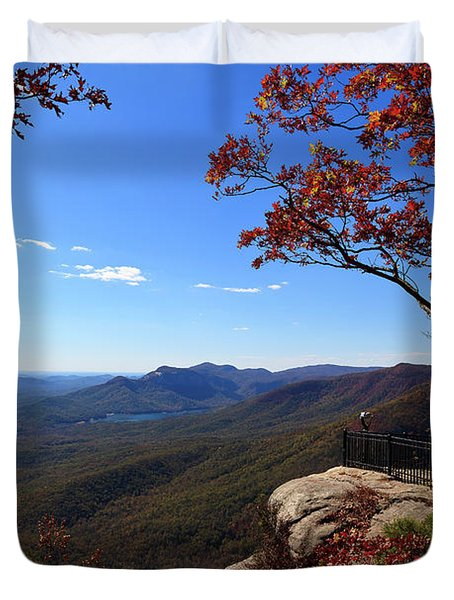 Caesars Head State Park In Upstate South Carolina Duvet Cover