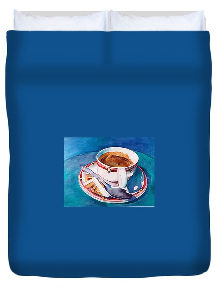 Cafe Con Leche Duvet Cover