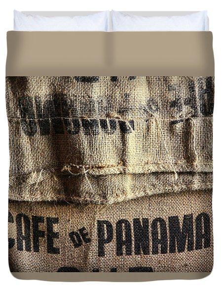 Cafe De Panama Duvet Cover