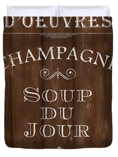 Cafe De Paris 2 Duvet Cover