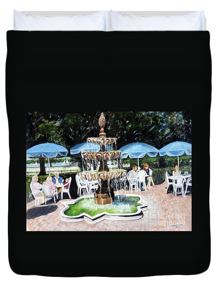 Cafe Gallery Duvet Cover