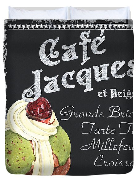 Cafe Jacques Duvet Cover