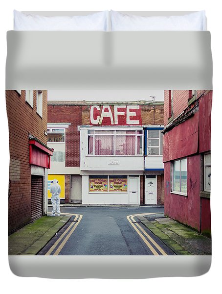Cafe Duvet Cover