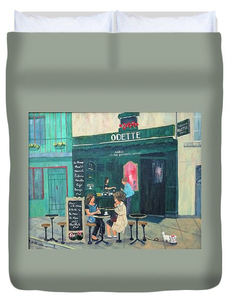 Cafe Odette Duvet Cover
