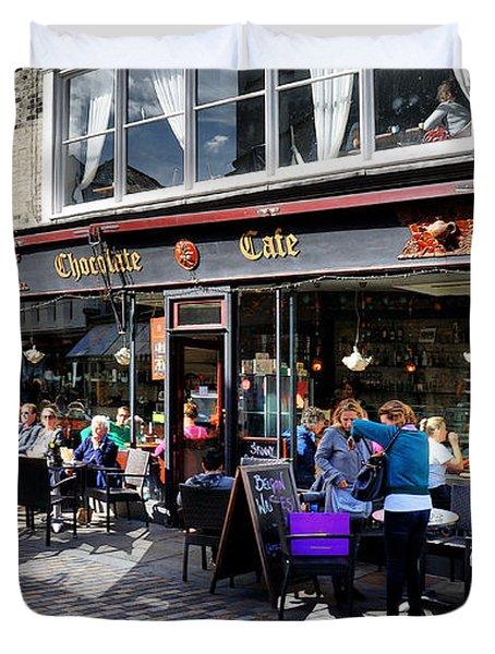 Cafe Duvet Cover