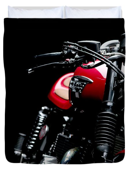 Cafe Racer Duvet Cover