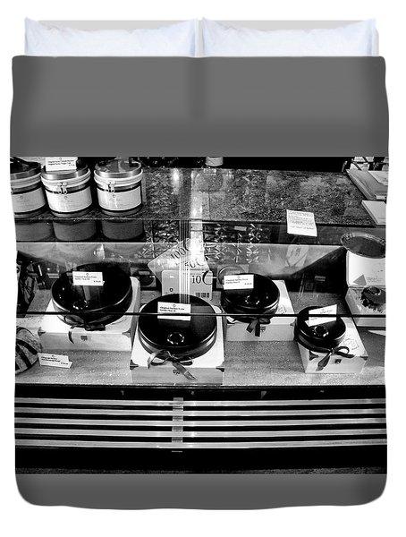 Cafe Sacher Treats Salzburg Duvet Cover