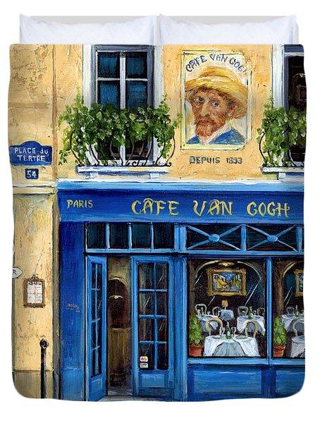 Cafe Van Gogh II Duvet Cover