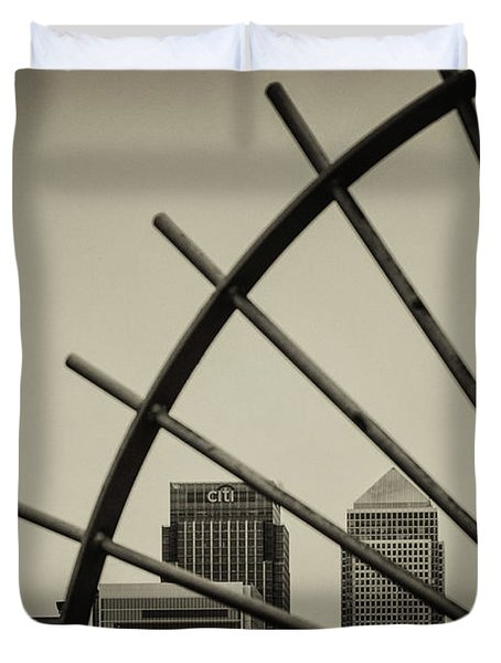 Caged Canary Duvet Cover