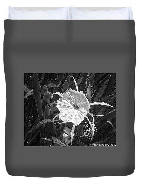 Cahaba Lily Duvet Cover