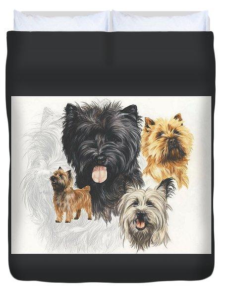 Cairn Terrier Revamp Duvet Cover
