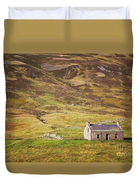 Cairngorms Cottage Duvet Cover