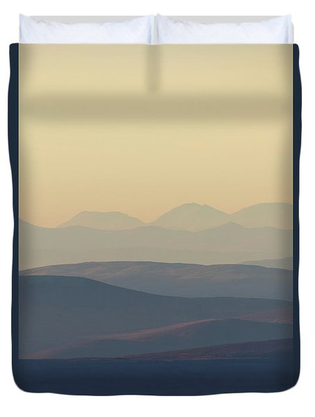 Cairngorms Sunset Duvet Cover