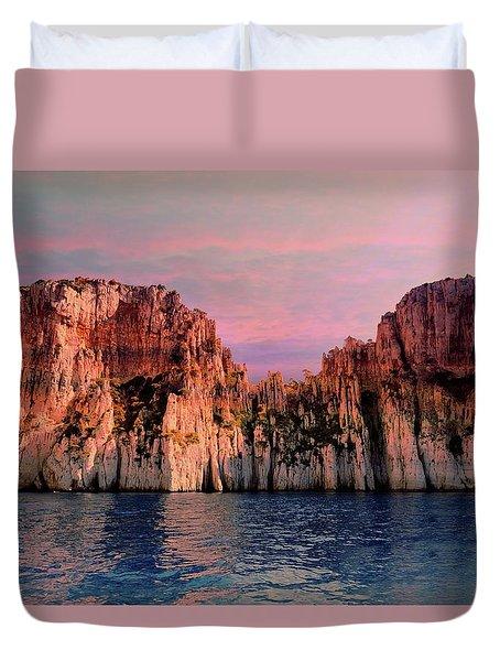 Calanques De Marseille .  Duvet Cover