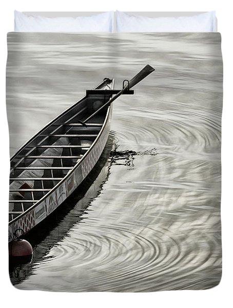 Calgary Dragon Boat Duvet Cover