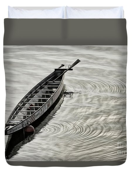 Calgary Dragon Boat Duvet Cover