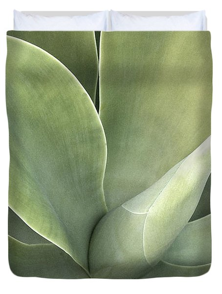 Cali Agave Duvet Cover by Rich Franco