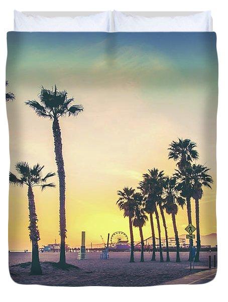 Cali Sunset Duvet Cover