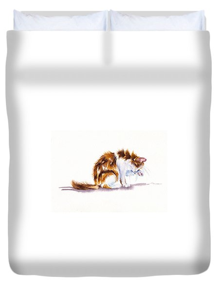 Calico Cat Washing Duvet Cover