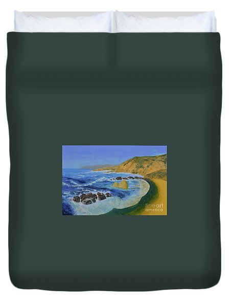 Calif. Coast Duvet Cover
