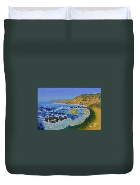 Calif. Coast Duvet Cover