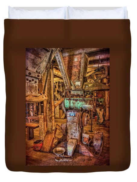 California Pellet Mill Co Duvet Cover