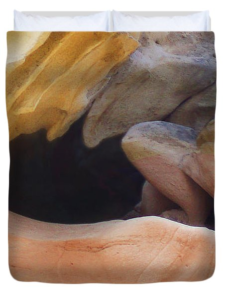 California Cave Duvet Cover