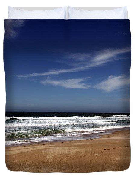 California Coast Duvet Cover by Amanda Barcon