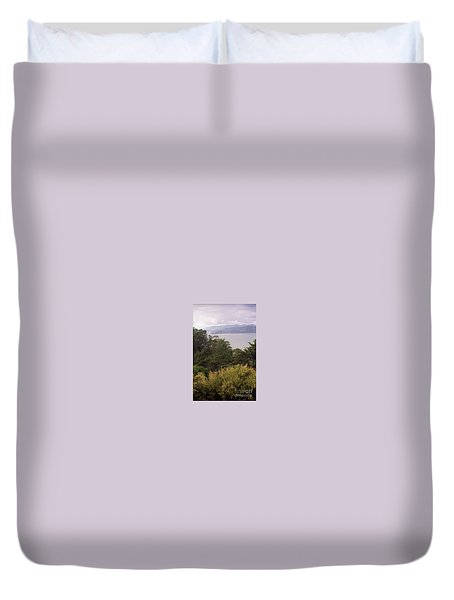 California Coast Fan Francisco Duvet Cover