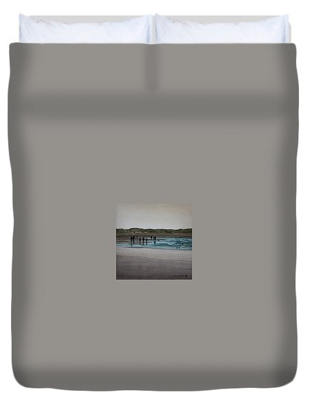 California Coast - Limantour Duvet Cover