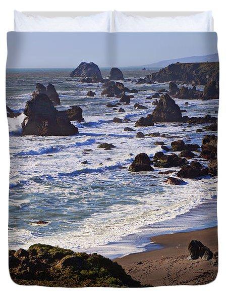 California Coast Sonoma Duvet Cover