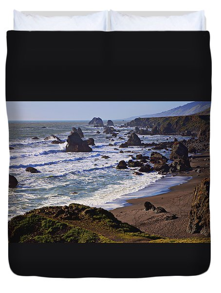 California Coast Sonoma Duvet Cover by Garry Gay