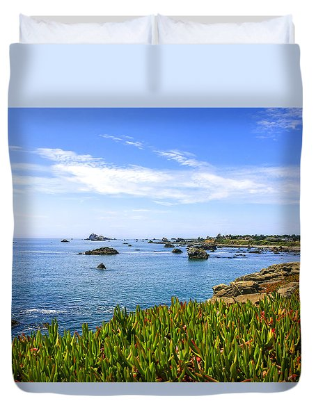 California Coastal Summer Duvet Cover