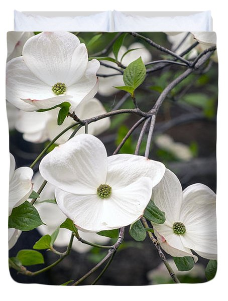 California Dogwood Duvet Cover