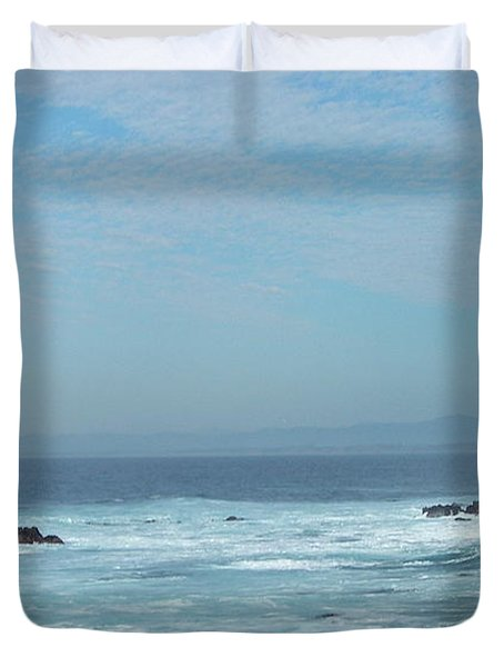 Duvet Cover featuring the photograph California Dreaming by Carol  Bradley