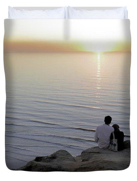 California Dreaming Duvet Cover by Christine Till