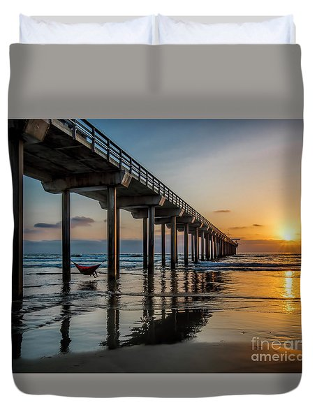 California Dream'n Duvet Cover