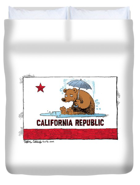 California Rain Duvet Cover