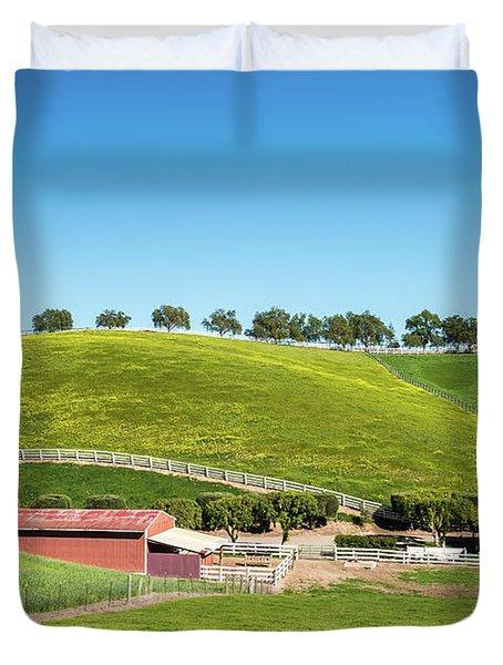 California Ranch Duvet Cover