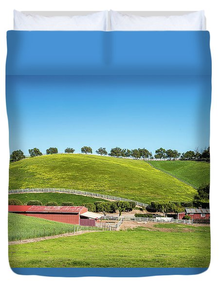 California Ranch Duvet Cover
