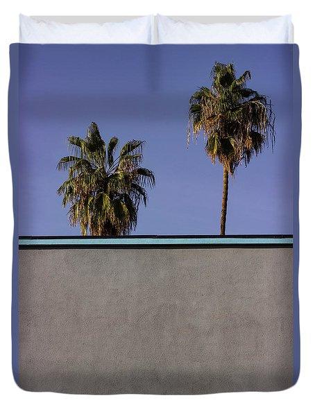 California Rooftop Duvet Cover