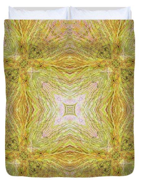 California Spring Oscillation Field Duvet Cover