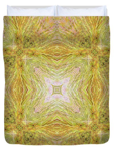 California Spring Oscillation Field Duvet Cover