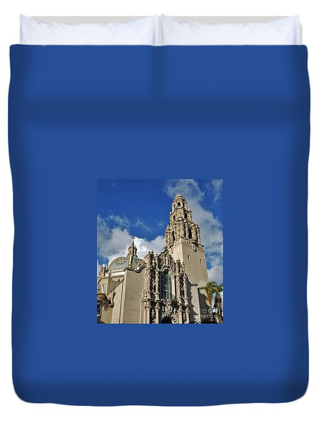 California Tower 2010 Duvet Cover