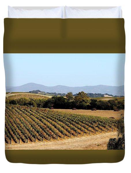 California Vineyards Duvet Cover